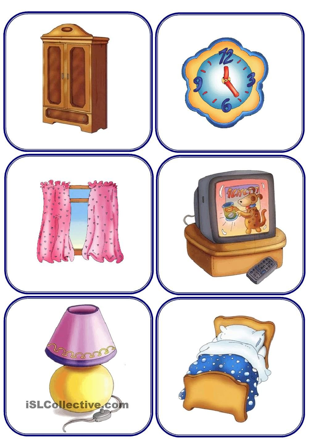 House Of Appliances Furniture And Parts Of The House Flashcards Furnitureappliances