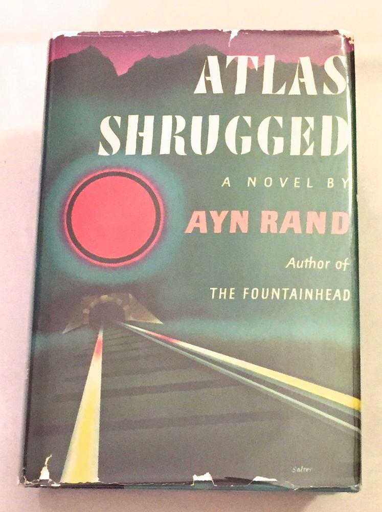 Atlas Shrugged Ayn Rand 1957 1st Edition 20th Printing
