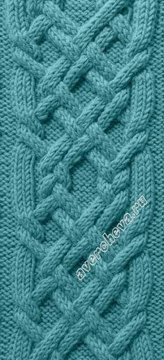 Pattern 631 Knitting Stitch Cables Kts Mintk