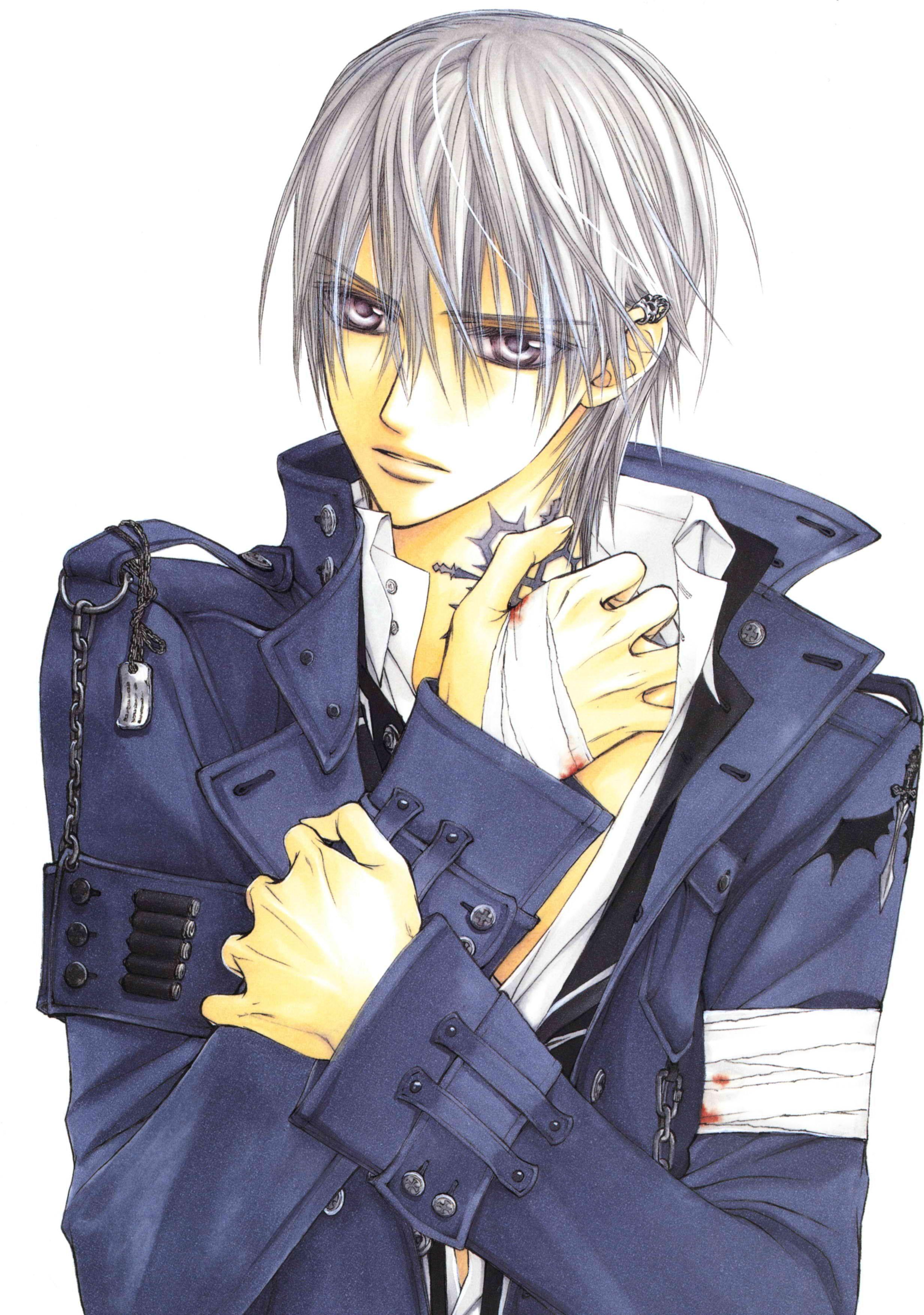 Zero Kiryu Vampire Knight Anime Vampire knight zero
