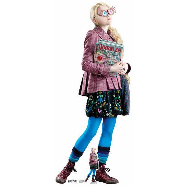 Harry Potter Pappaufsteller Luna Lovegood Kostüm Luna