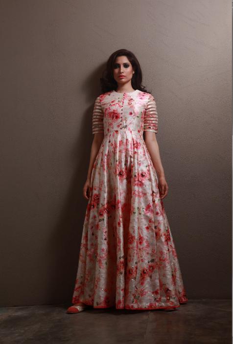 Indian Floor Length Dresses Photo Shoot