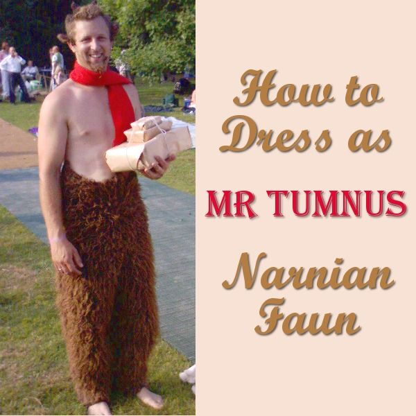 Mr Tumnus Costume Ideas: Narnia Faun #halloweencostumesformen