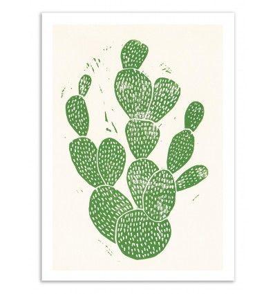 Bianca Green dessine du0027adorables cactus en illustration et papier