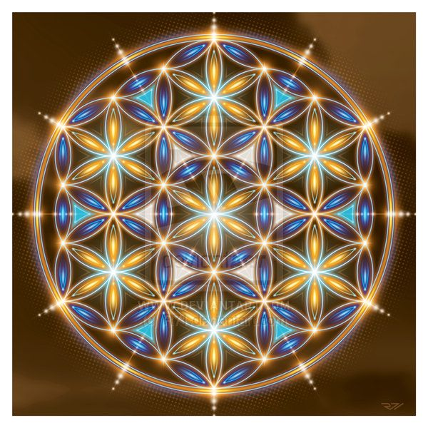 Flower Of Life. by ~R71 on deviantART.