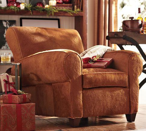 manhattan leather club chair - limited edition