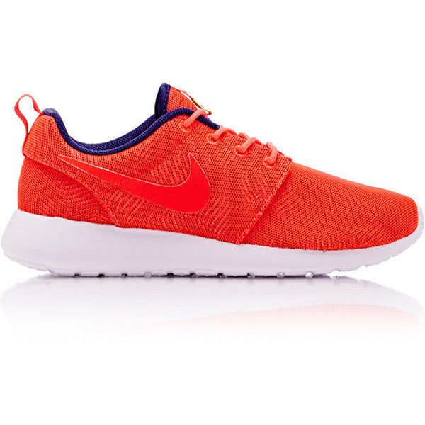 Nike Women's Roshe One Moire Sneakers ($85) ❤ liked on Polyvore featuring  shoes,