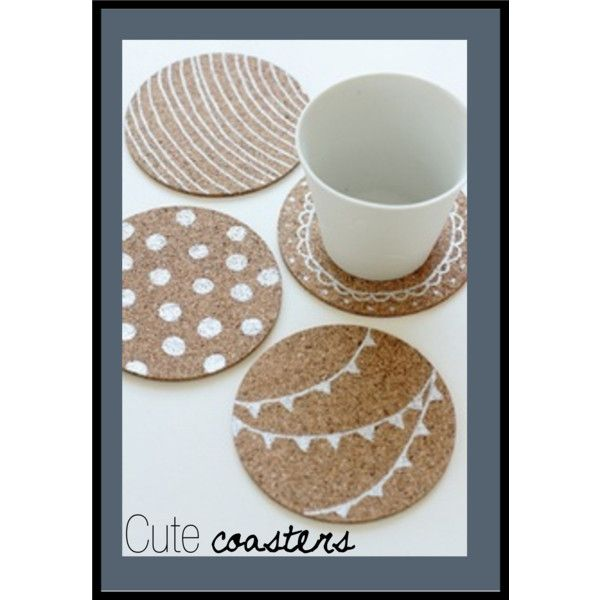 Cute Summer Coasters - Polyvore