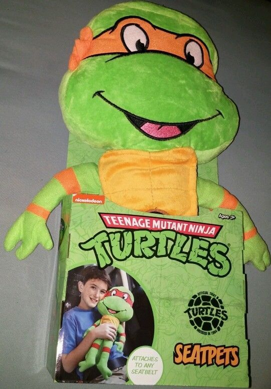 TMNT Teenage Mutant Ninja Turtles Michelangelo Stretchkins Toy Nickelodeon