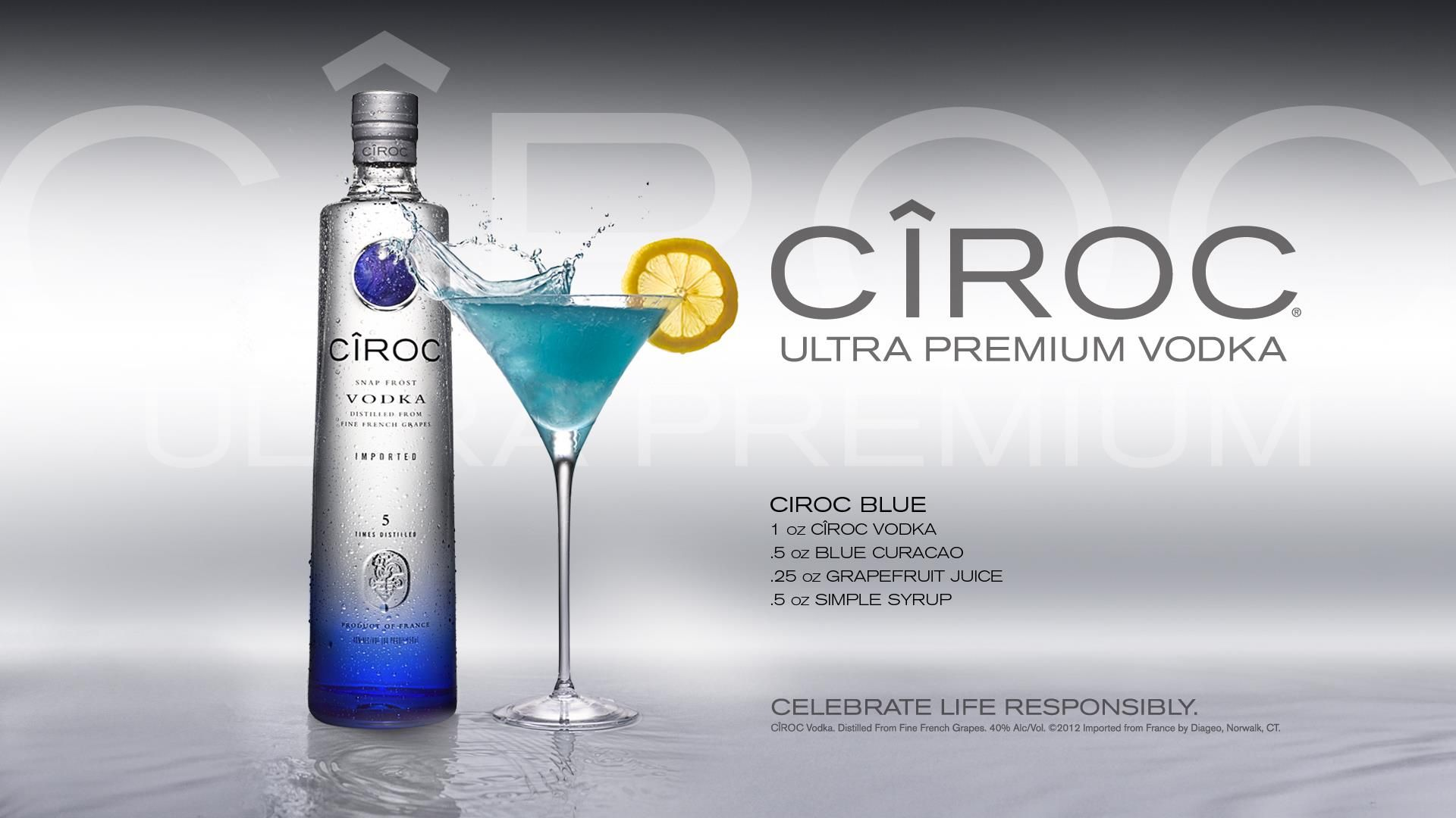 Martini Recipes Vodka 1000 Images About Ciroc Cocktails On Pinterest Coconut Rum
