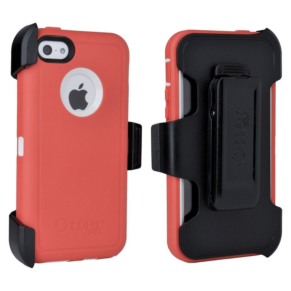 iPhone 5C Case - Otterbox Defender - Black, Berry Berry