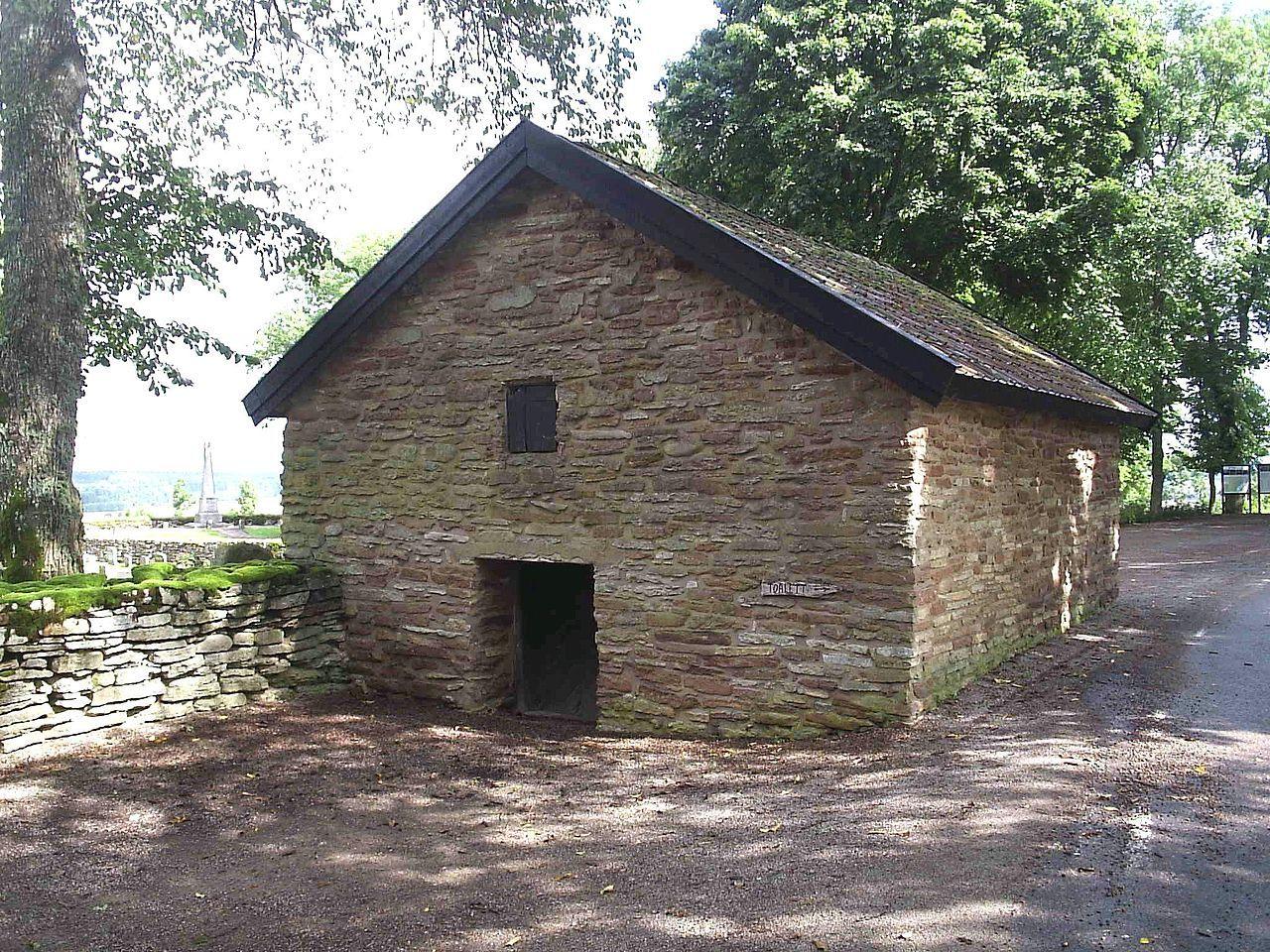 Sockenmagasinet, ev från början av 1700-talet, i Kungslena, den 23 aug 2006 - Parish granary - Wikipedia, the free encyclopedia