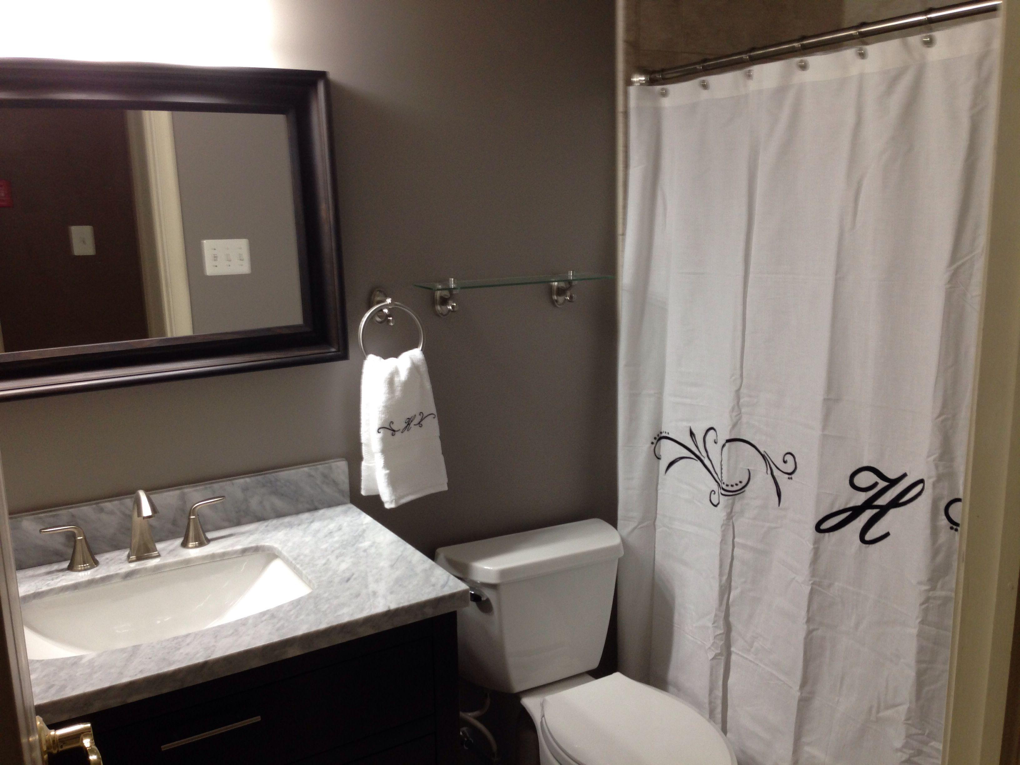 My Bathroom Renovation! Whew! Paint