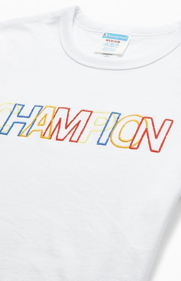 Champion Multicolor Heritage T-Shirt#champion #heritage #multicolor #tshirt
