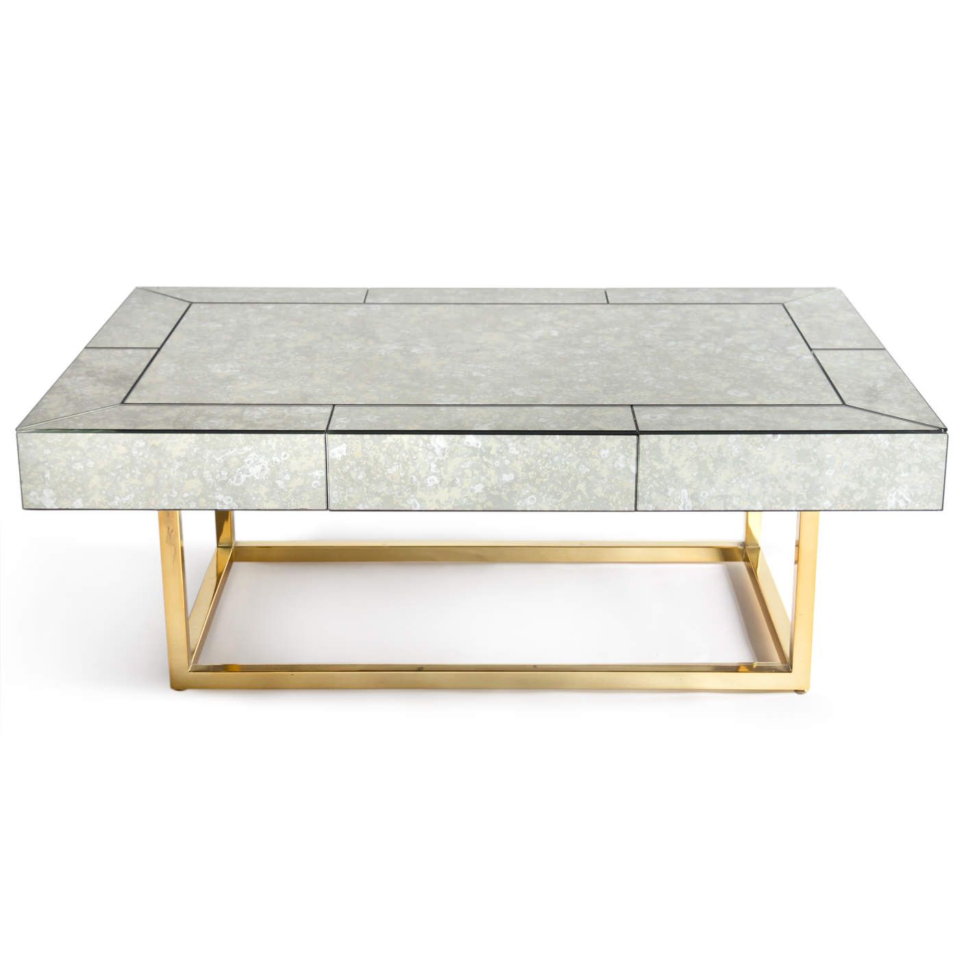 Mid Century Modern Luxury Furniture Delphine Mirrored Cocktail Table Coffee Table Coffee Table Design Table [ jpg ]