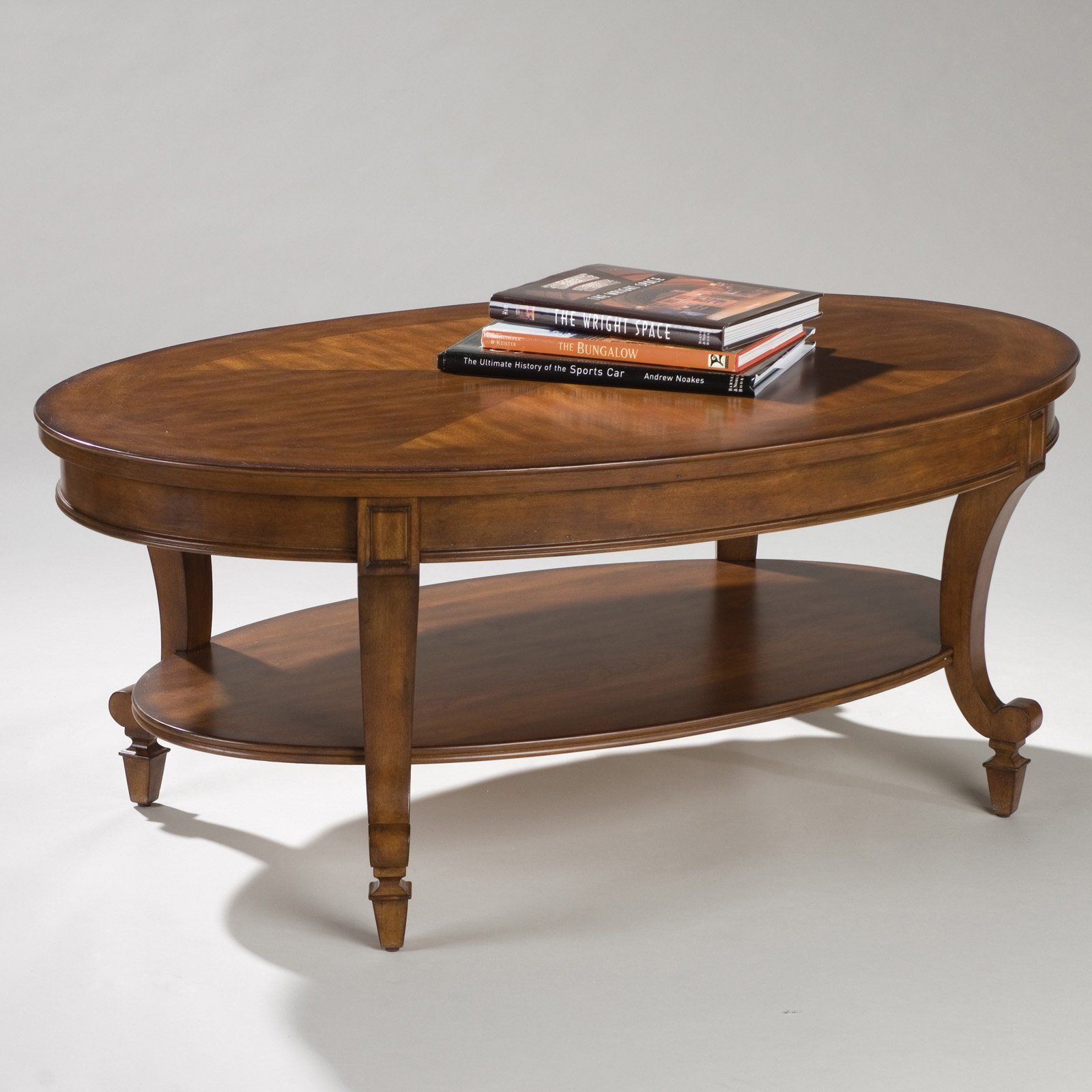 Magnussen t1052 aidan wood oval coffee table 299 99