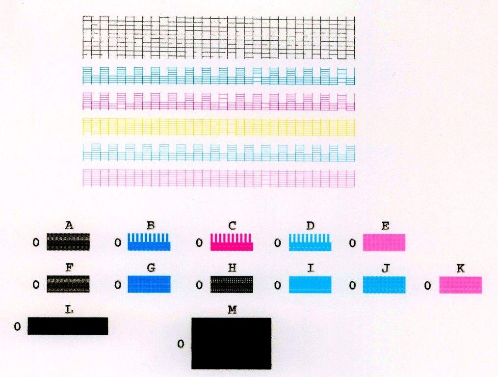 CMYK printer ink test Patterns Color Palettes Pinterest
