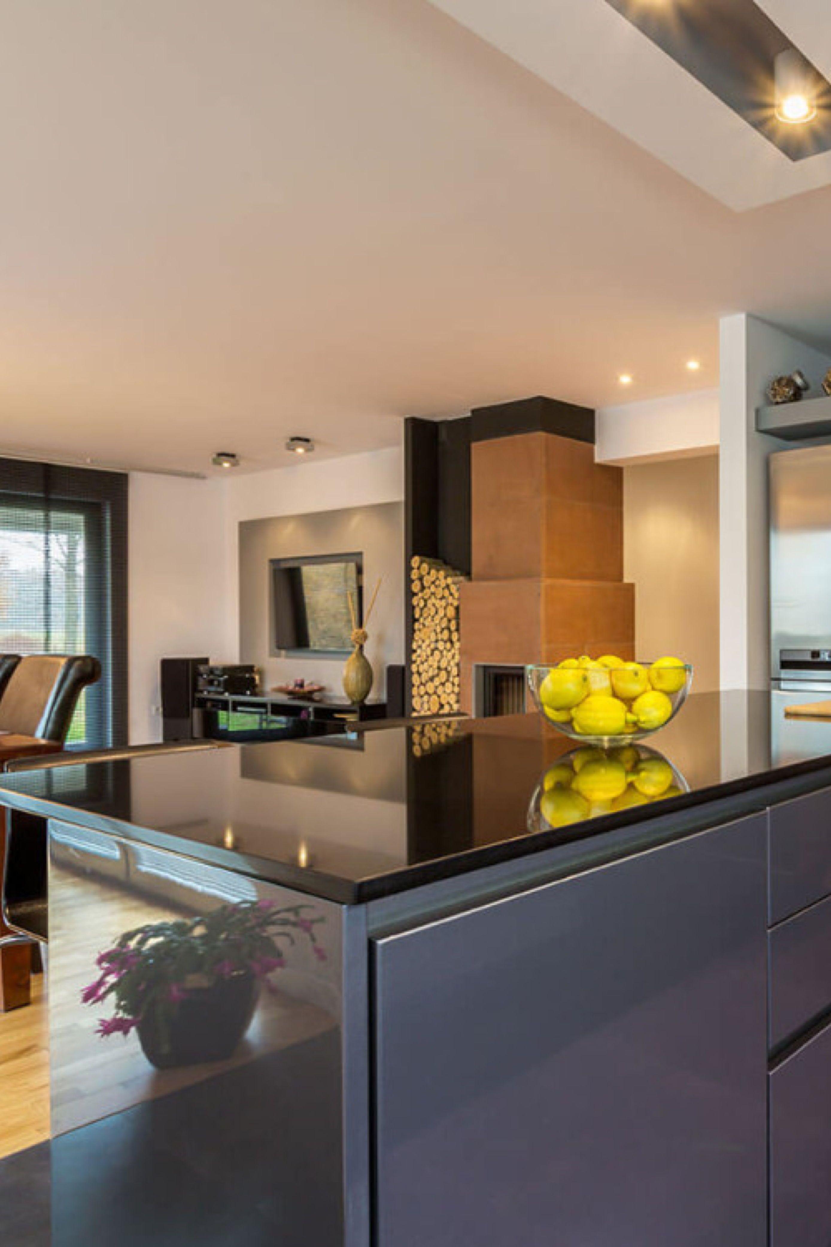 Absolute Black Granite Countertops Cost Reviews In 2020 Absolute Black Granite Countertops Granite Kitchen Granite Countertops