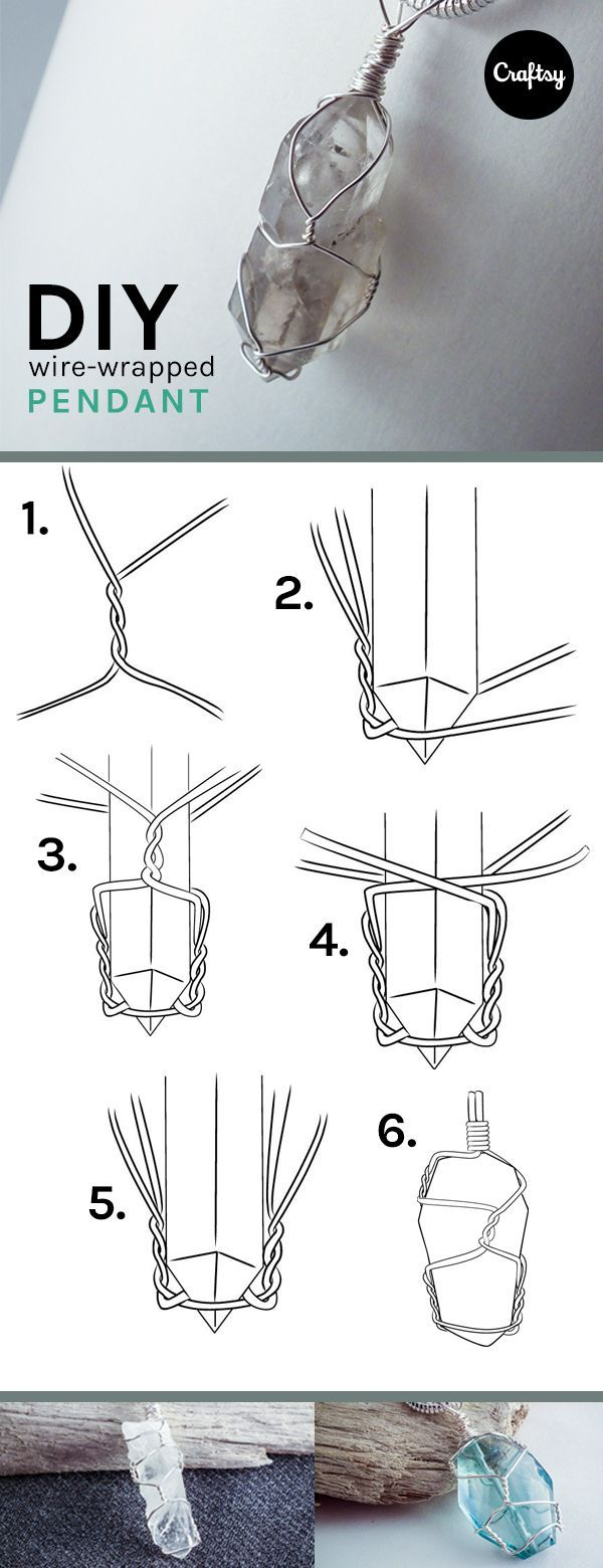 Simple Steps to Make a DIY Crystal Pendant