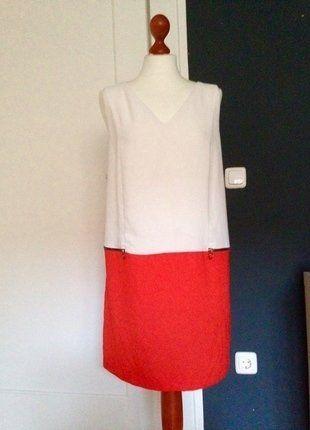 Kaufe meinen Artikel bei #Kleiderkreisel http://www.kleiderkreisel.de/damenmode/kurze-kleider/140117990-zweifarbiges-kleid-zara