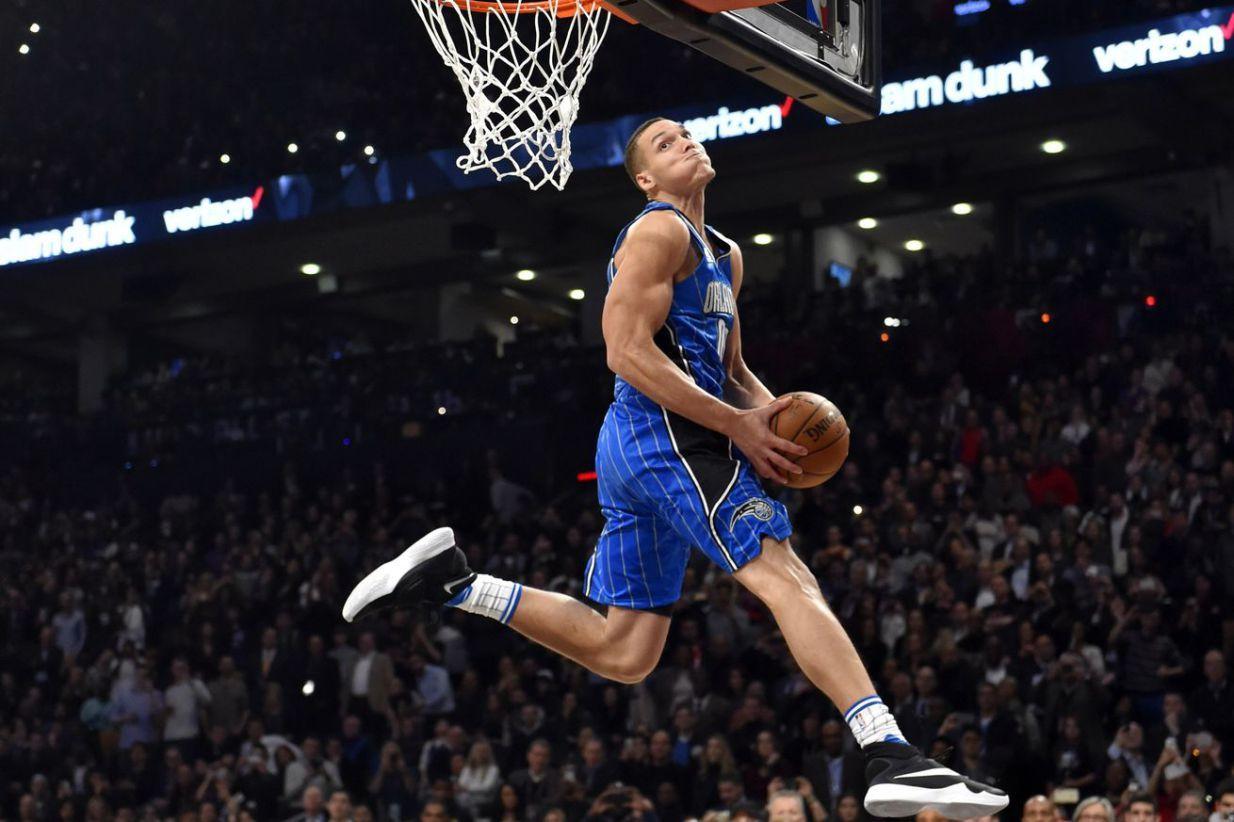 Aaron Gordon Nba, Slam dunk, Sports headlines