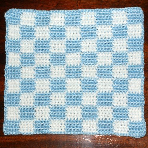 Learn How to Crochet This Cute Heart Afghan Square for