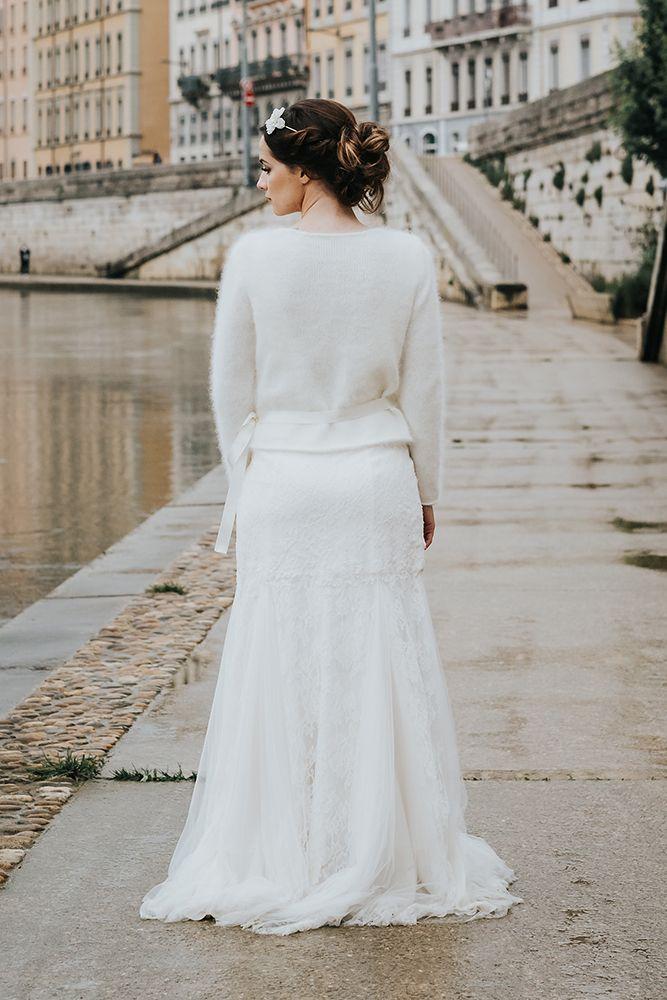 b8710a5c25b Modèle Perle   angora mariée