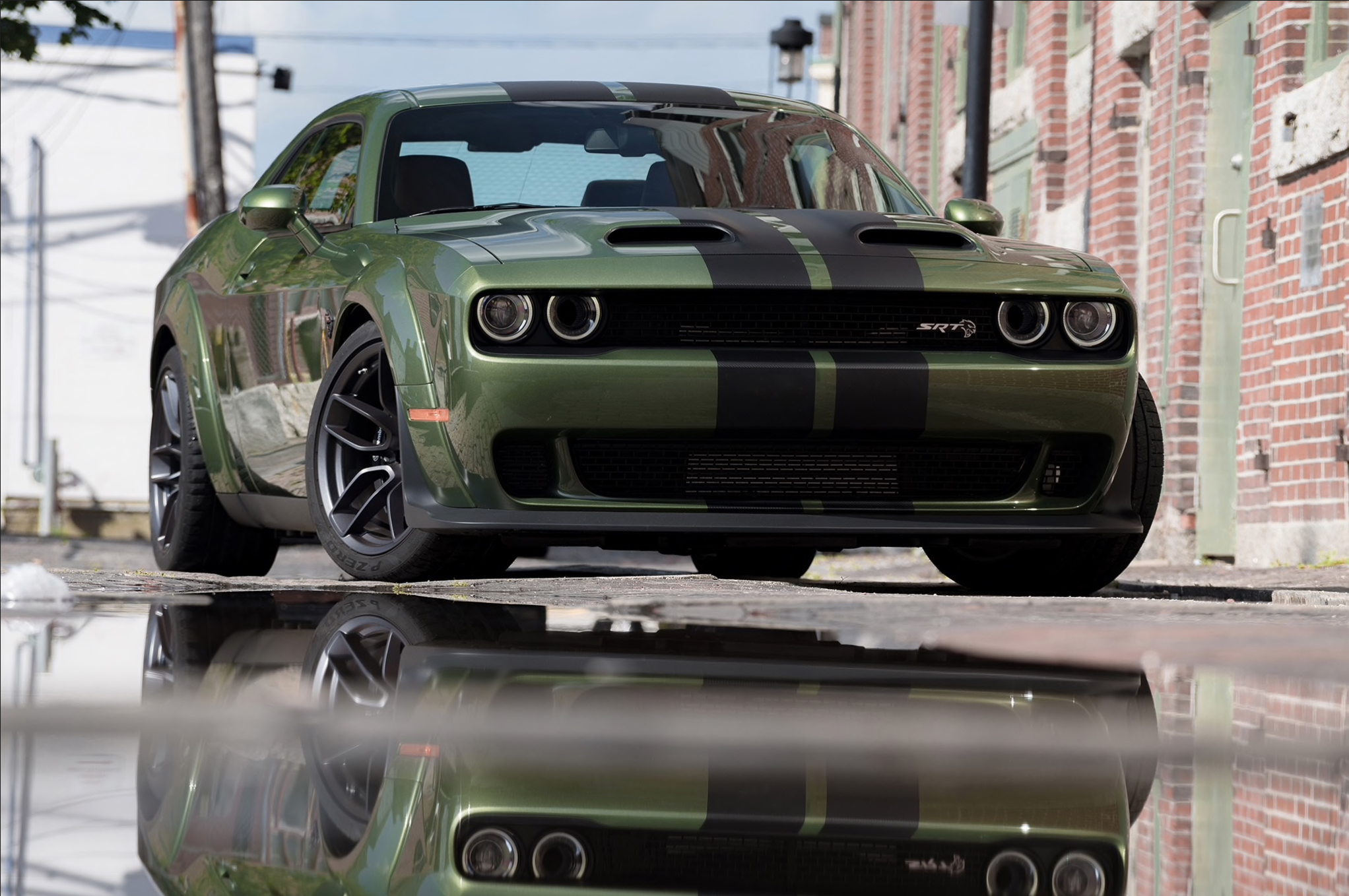 F8 Green Madness 2019 Dodge Challenger Srt Hellcat Redeye Dodge