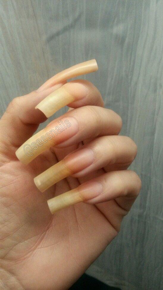 My Bare Long Natural Nails Long Natural Nails Natural Nails Curved Nails