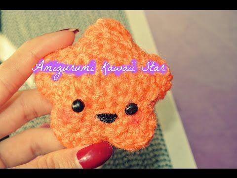 Crochet Amigurumi Kawaii Star - YouTube