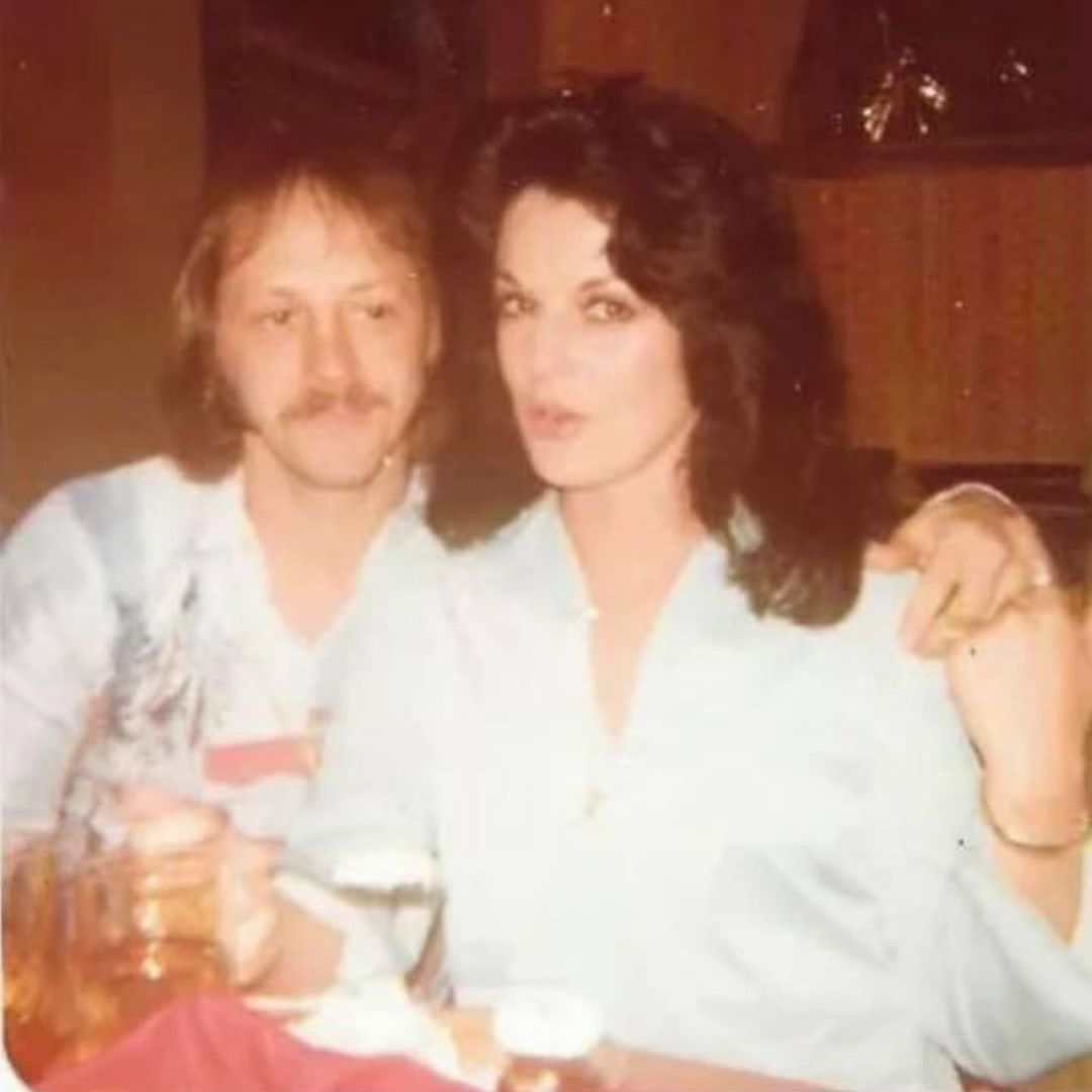 Elvis's First Cousin, Billy Smith With His Wife, Jo Smith