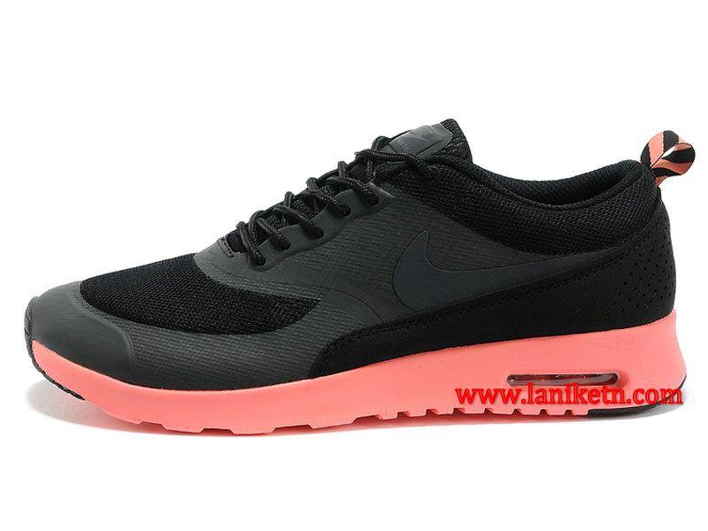 hot sales ffc75 32ff7 Nike Air Max Thea Print Chaussure Pour Femme Noir Rose 599408-604 Air Max  Negros