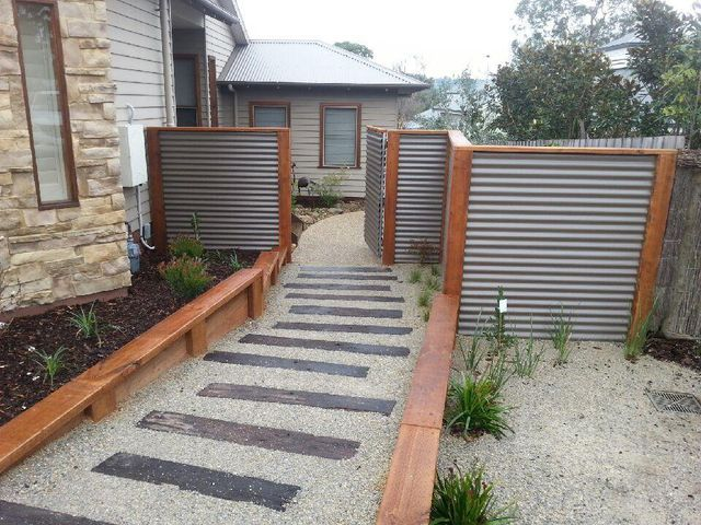 staining treated pine sleepers google search fence. Black Bedroom Furniture Sets. Home Design Ideas