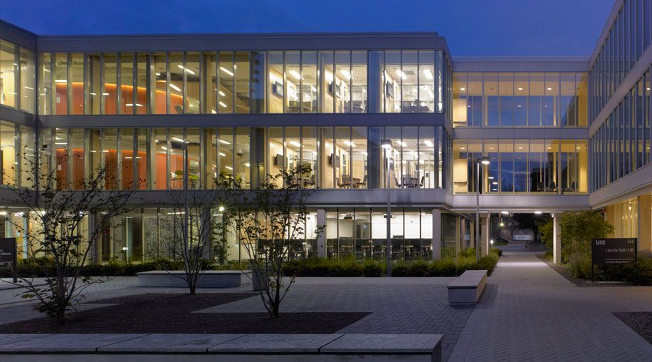 University of Illinois Douglas Hall College of Business Administration earns LEED Silver Certification.