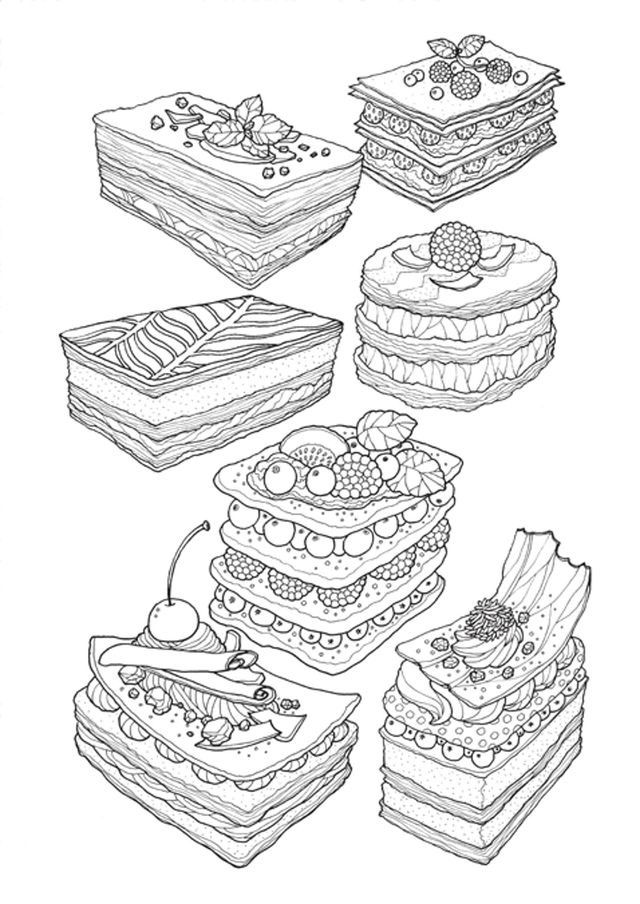 Pin By Chey Rao On Coloring Pages Food Coloring Pages