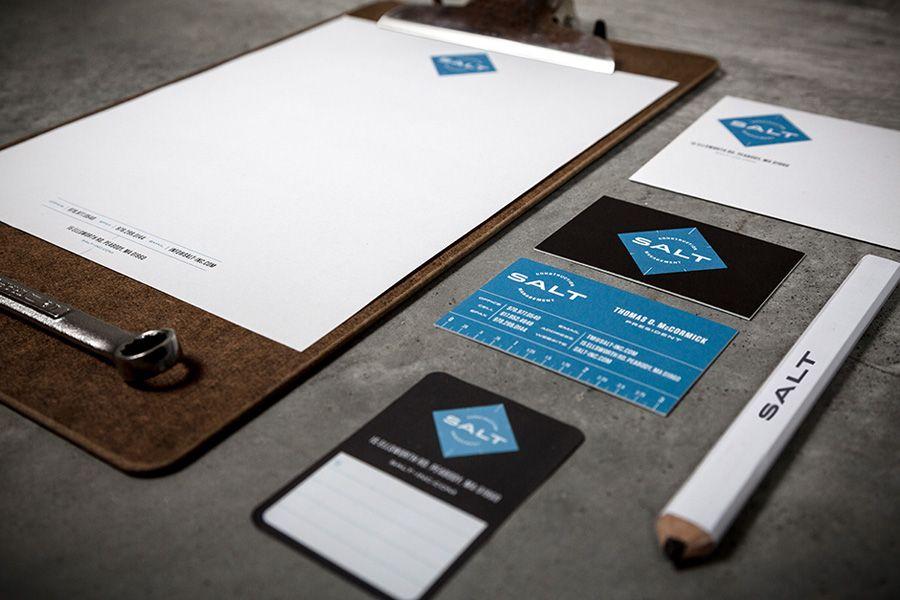 Unique Branding Design, Salt @taylordgpeck #Branding #Design (http://www.pinterest.com/aldenchong/)