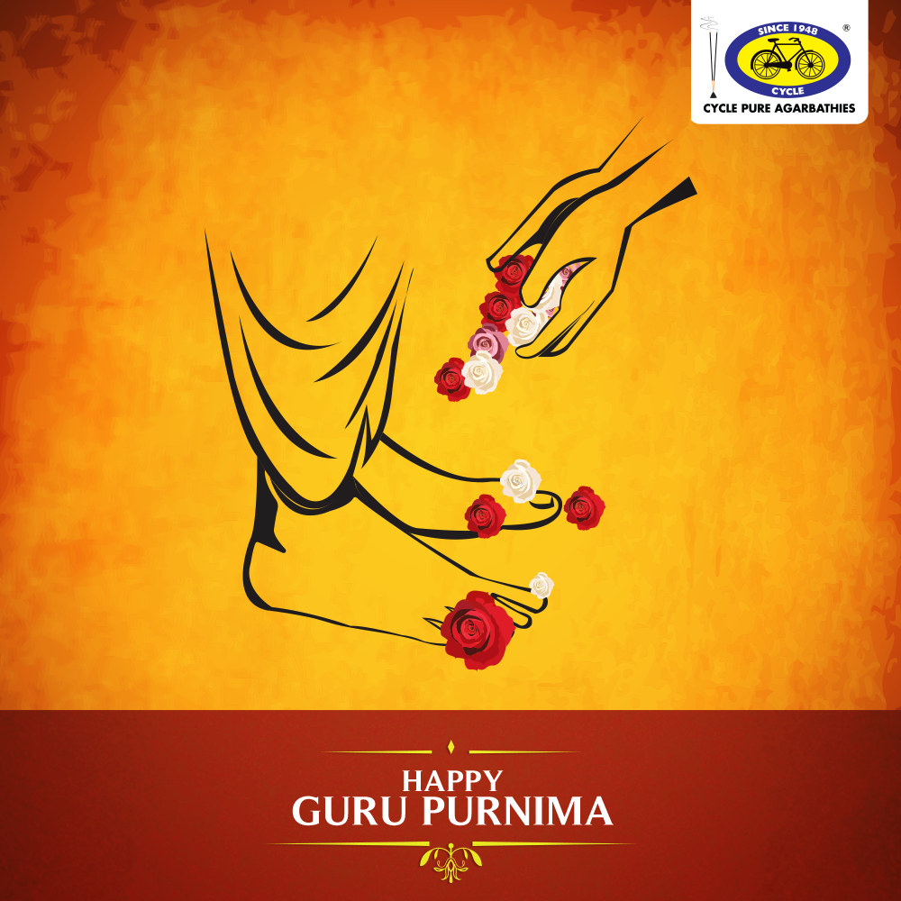 Happy Guru Purnima! May the golden lessons taught by our teachers be