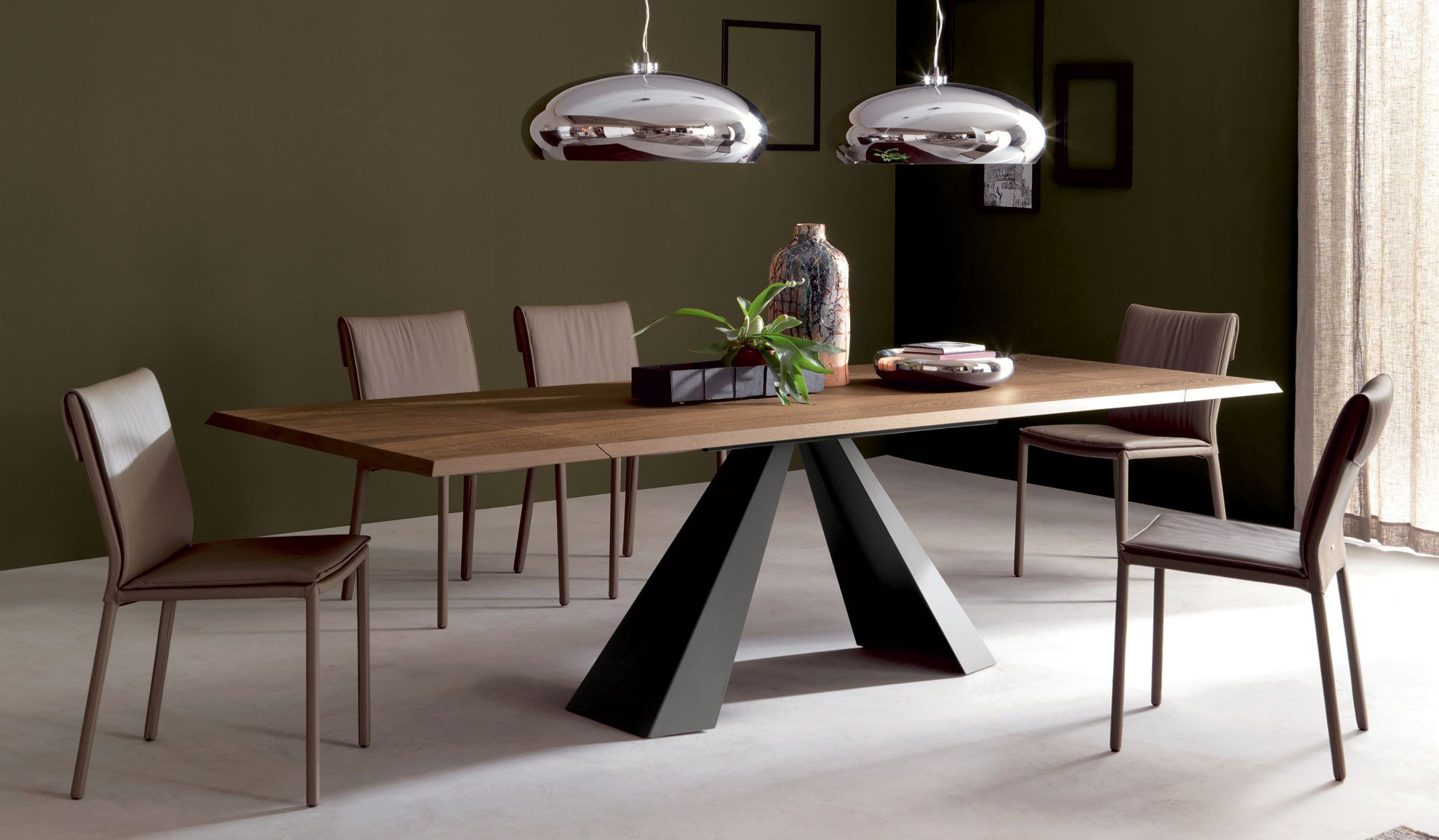 Mesa comedor extensible Eliot Cattelan | Salons and Room