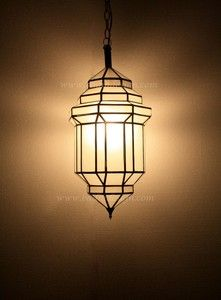 Badia Design Inc., 818 762 0130 | Moroccan Hanging Lantern With Clear