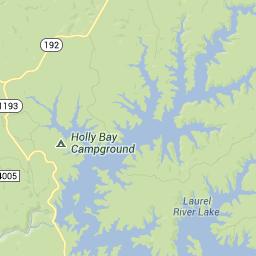 map of laurel lake ky Daniel Boone National Forest Laurel River Lake Corbin Ky map of laurel lake ky