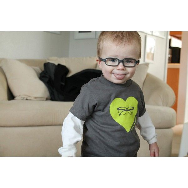I Love My Glasses T-shirt - Eye Power Kids Wear LLC