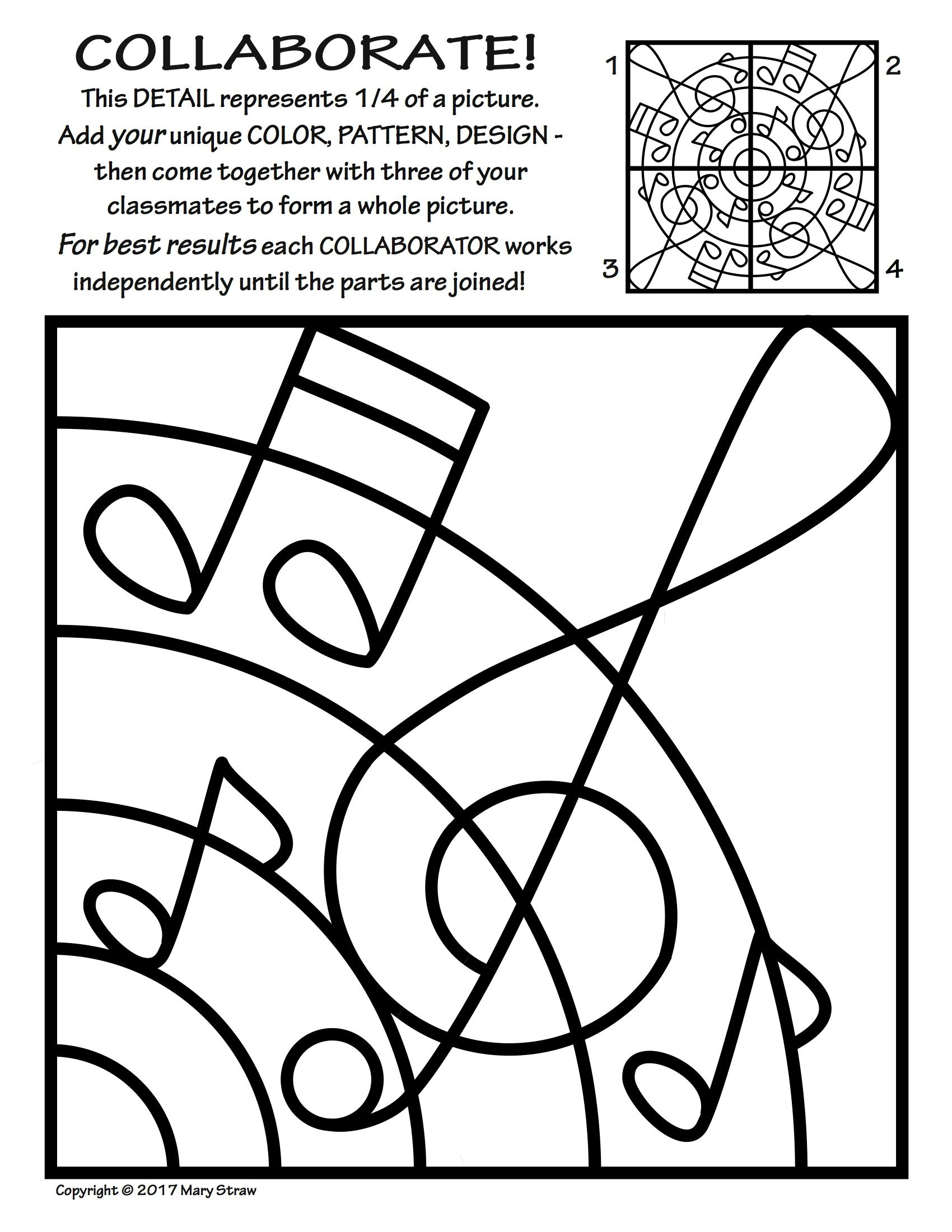 Radial Symmetry Page Coloring Pages