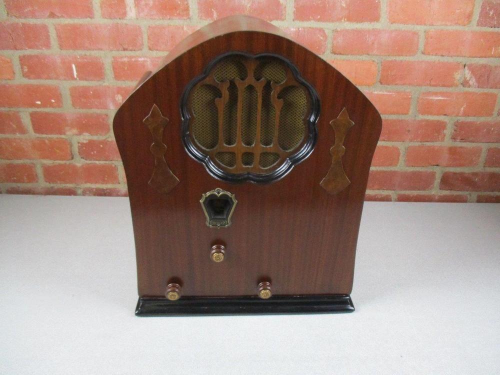 Vintage 1930 Clarion JR Tube Radio Model AC60 Works ...