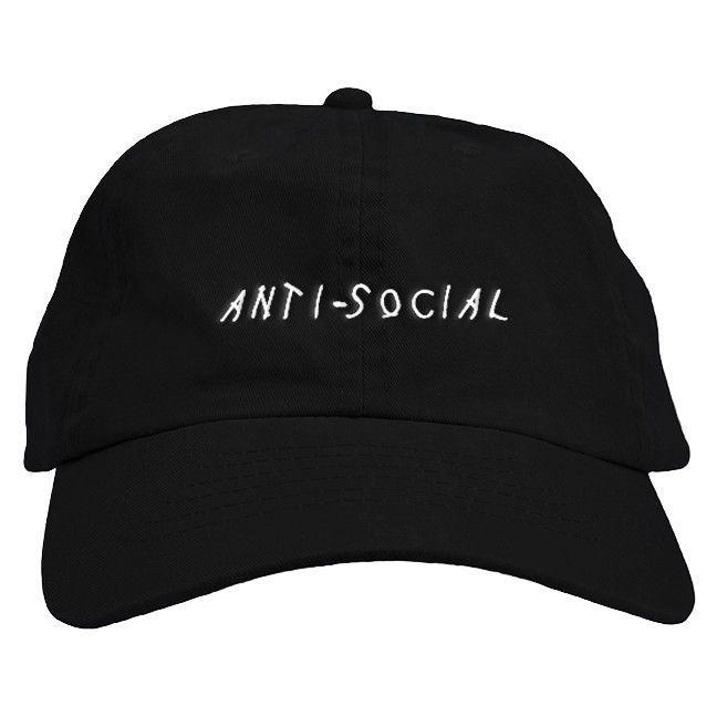 f068754533 Anti Social Dad Hat – Fresh Elites http   suprfashion.com Dad Caps