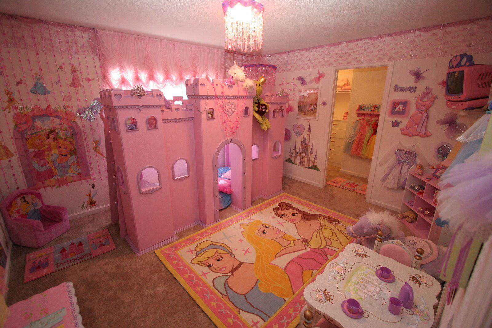 Princess Theme Bedroom | DSNY Home Three (DSNY3) :