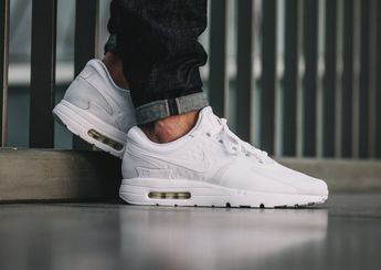 huge selection of ced8d 854eb Basket Nike Air Max Zero Essential 'All White' | too nice ...