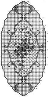 crochet em revista: Naperon
