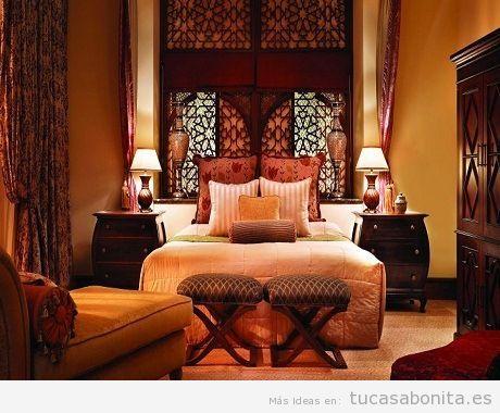 Ideas para decorar dormitorio estilo rabe 10 decoracion - Decoracion arabe interiores ...
