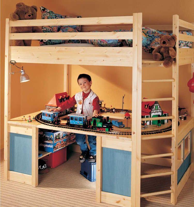 variables bett f r das kinder und jugendzimmer das. Black Bedroom Furniture Sets. Home Design Ideas