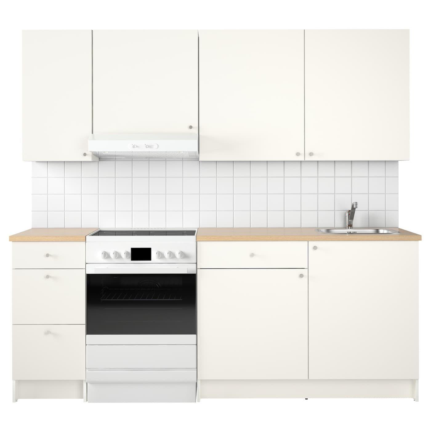 KNOXHULT Küche weiß IKEA Österreich Küchenschrank